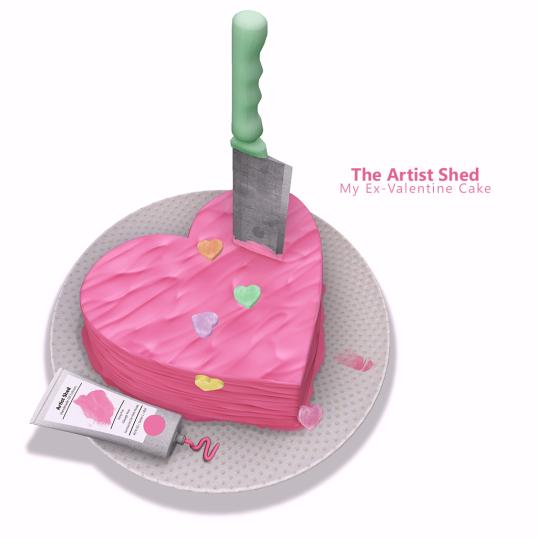 My Ex-Valentine Cake Poster SM